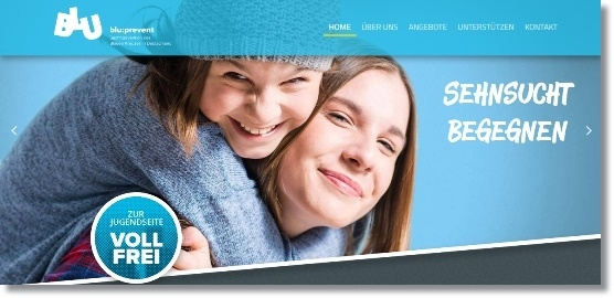 Banner blueprevent HP neu